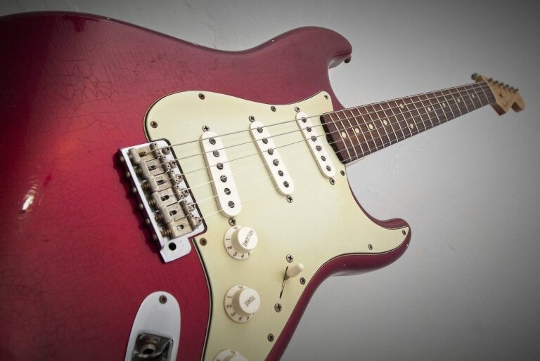 2003 Fender Stratocaster Candy Apple Red